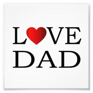 Love dad photo art
