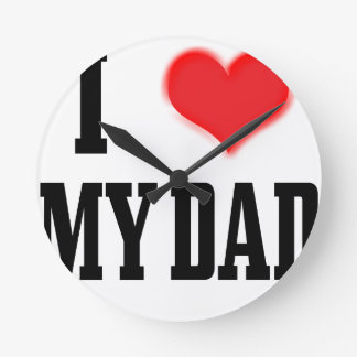 love dad wall clock
