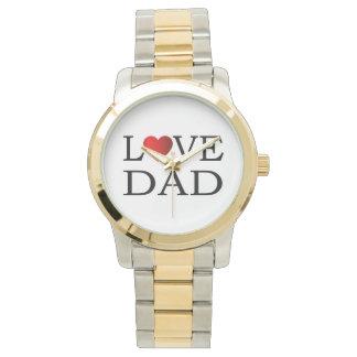 Love dad wrist watch