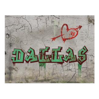 Love Dallas Postcard