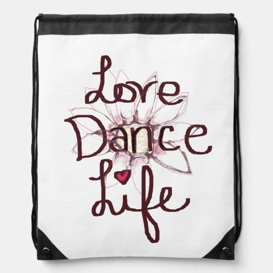 Love Dance Bag Cinch Bag