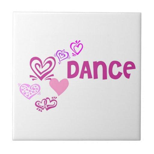 Love Dance Ceramic Tile