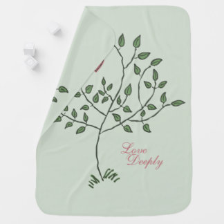 Love Deeply Deeply Loved Baby Blanket