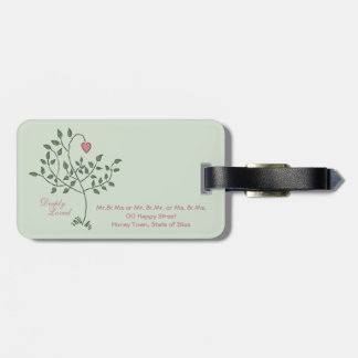 Love Deeply Deeply Loved Luggage Tag