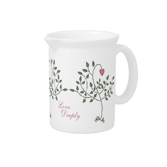 Love Deeply Deeply Loved Pitcher