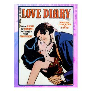 Love Diary #33 Postcard