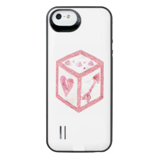 Love Dice Battery Pack iPhone SE/5/5s Battery Case