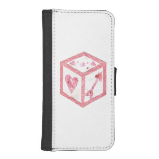 Love Dice I-Phone 5/5s Wallet Case
