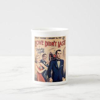 Love Didn't Last vintage romance magazine mug