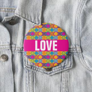 LOVE  Diversity LGBT Button