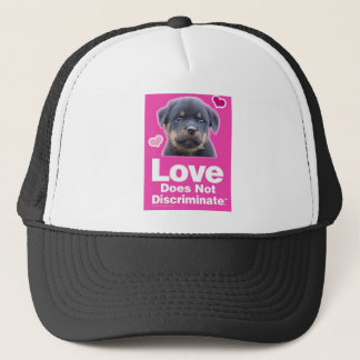 Love Does Not Discriminate - Black Trucker Hat