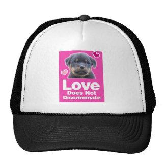 Love Does Not Discriminate - Black Trucker Hat