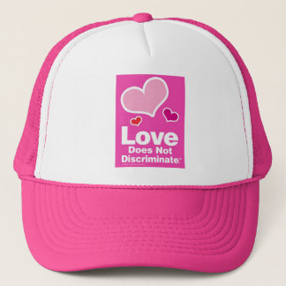 Love Does Not Discriminate - Pink Trucker Hat