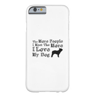 Love Dog Paw Pet Funny  I Love My Dog Barely There iPhone 6 Case