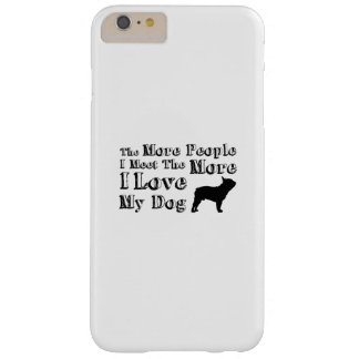Love Dog Paw Pet Funny  I Love My Dog Barely There iPhone 6 Plus Case