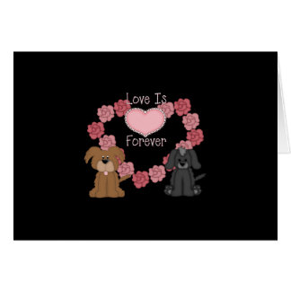 Love Dogs Forever Card