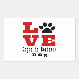 Love Dogue de Bordeaux Dog Designes