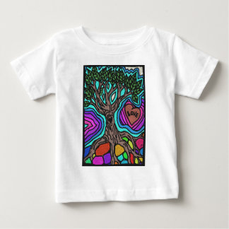 Love doodle tree baby T-Shirt