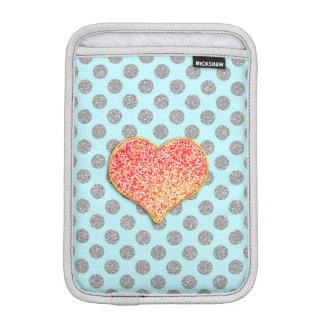 LOVE DOTS -Custom Your Color- iPad Mini  Vertical Sleeve For iPad Mini