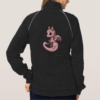 Love Dragon Women's Track Jacket Sweatshirt