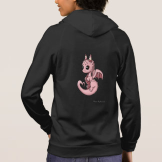 Love Dragon Women's Zip Up Fleece Hoodie