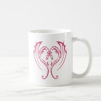 LOVE DRAGONS CLASSIC WHITE COFFEE MUG