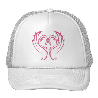 LOVE DRAGONS MESH HATS