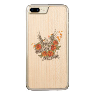 Love Eagle For Wood Phone Cases