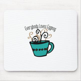 Love Eggnog Mousepads