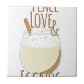 Love & Eggnog Tile
