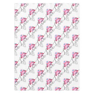 Love Elephant Tablecloth