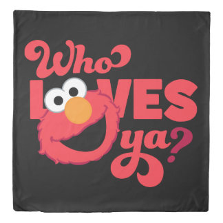 Love Elmo Duvet Cover