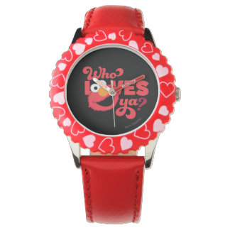 Love Elmo Watch