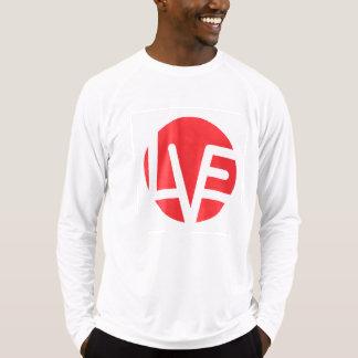 Love Emblem Fitted Long-Sleeve Shirt