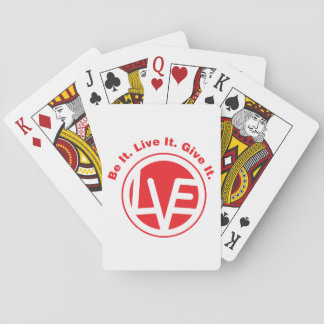 Love Emblem Standard Playing Cards