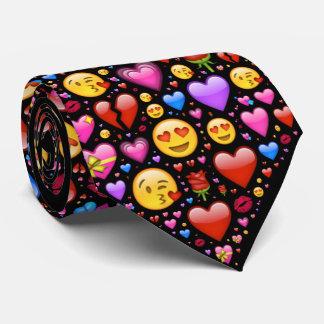 Love Emoji Customized Tie
