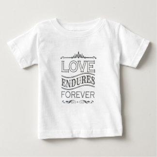 love endures forever dark baby T-Shirt