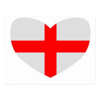Love England Postcard