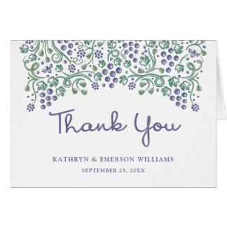 Love Entwined Thank You Note Card