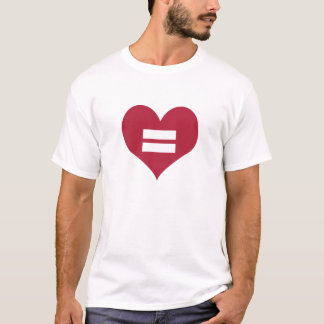 Love Equality Heart T-Shirt