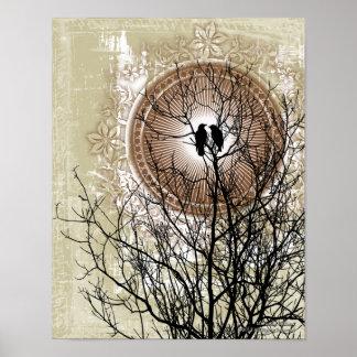 Love Eternal Gothic Art Poster