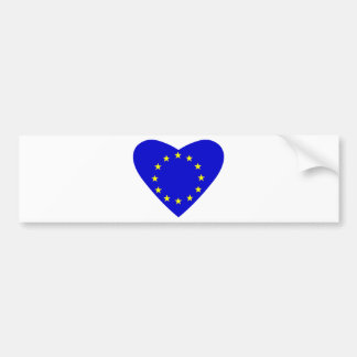 Love Europe Bumper Sticker