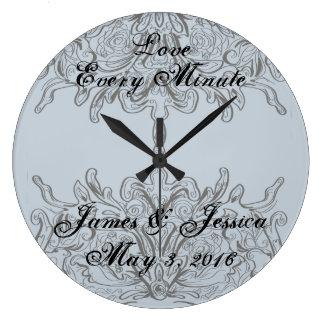 Love Every Minute Clocks