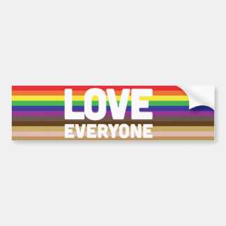 Love Everyone Bumper Sticker