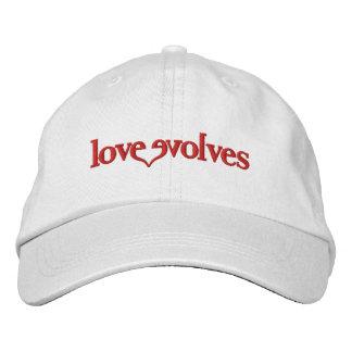 Love Evolves - The PSA Adjustable Hat Embroidered Hat