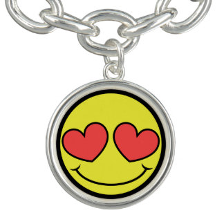 Love Face Charm Bracelets