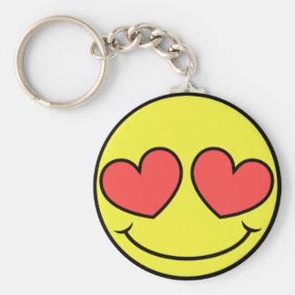 Love Face Keychain