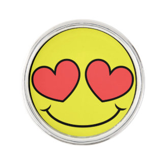 Love Face Lapel Pin