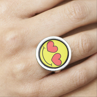 Love Face Ring