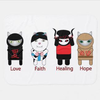 Love Faith Healing Hope Baby Blanket